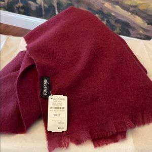 Authentic BNWT Tom Ford Cashmere Scarf